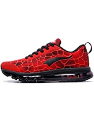 Onemix Air Baskets Chaussures Jogging Course Gym Fitness Sport Lacet Sneakers Style Running Multicolore Respirante Homme
