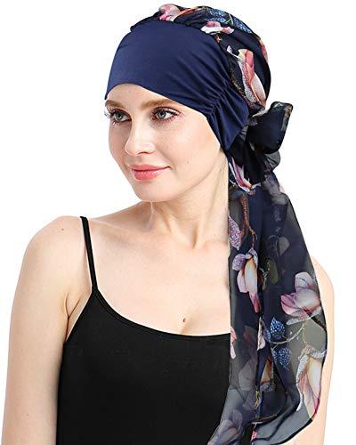 FocusCare weibliche Kopfbedeckung für die Chemo alopezie Damen turbantes schals caps kopfhaut Headcover schlafen hüte