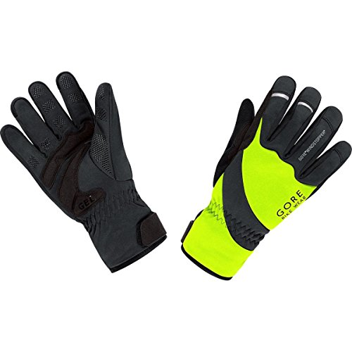 GORE BIKE WEAR UNIVERSAL WINDSTOPPER THERMO   GUANTES UNISEX  MULTICOLOR (NEON YELLOW / BLACK)  TALLA 9
