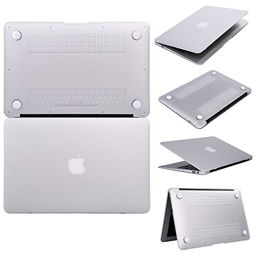 "Kapa 2 in 1 Protective Snap On Hard Back Case Cover Shell For Apple Macbook PRO 13.3"" - Transparent"