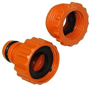 aerzetix adaptateur raccord connexion nez de robinet 1 2 et 3 4 vers connecteur rapide pour. Black Bedroom Furniture Sets. Home Design Ideas
