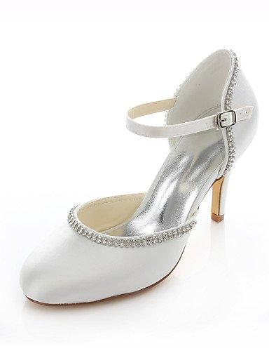 WSS 2016 Chaussures de mariage-Rose / Ivoire-Mariage / Habillé / Soirée & Evénement-Talons / Bout Arrondi-Talons-Homme 3in-3 3/4in-ivory