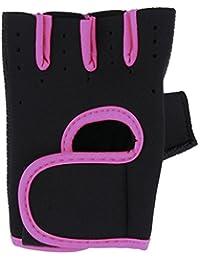 Sanwood® Fashion unisexe moitié doigt Sport Fitness Cyclisme Gants de conduite