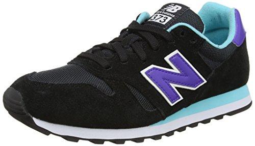 New Balance Women's 487651 50 Low-Top Sneakers, Black (Black/001), 7.5 UK