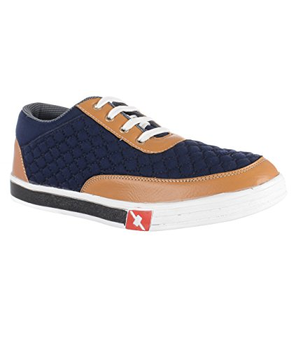 CELIO CASUAL SEAKERS BROWN/BLUE  available at amazon for Rs.999