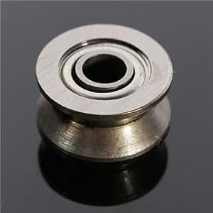 Haute Qualité 624VV V Groove scellé roulements à billes Vgroove 4x13x6mm 1.7mm profonde