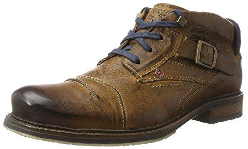 Bugatti Herren 311381313200 Klassische Stiefel, Braun (Cognac), 45 EU