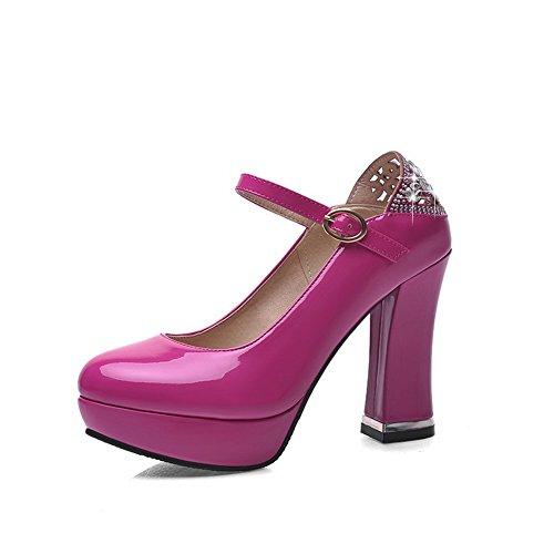 Balamasa D-ring Pour Les Femmes, Avec Des Talons Hauts, Des Chaussures En Matériau Souple Rosered Chaussures