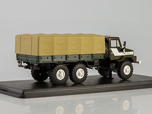 'Inizio Scale Models ssm1221-URAL 43223camion tipo Flatbed con tenda