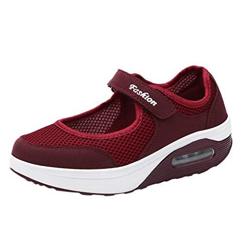 Zapatos Mujer Zapatillas Respirable Mocasines Deportes