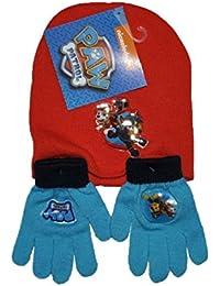Arditex - Set de gorro y guantes Paw Patrol Patrulla Canina niños.