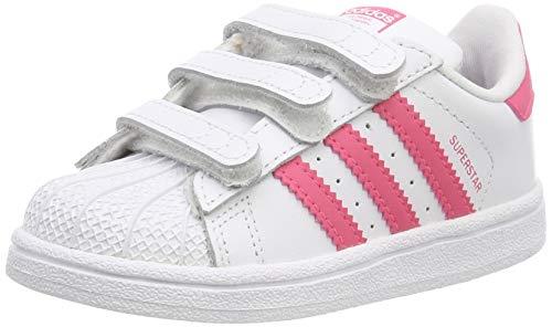 adidas Superstar CF I, Zapatillas de Gimnasia Unisex Niños, Blanco (FTWR White/Clear...