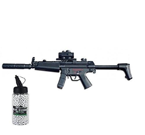 SET: Softair G8DS® Softair Gewehr CM023 AEG mit Stangen Magazin und Doppelmagazin max. 0,5 Joule 6mm 7457 + G8DS® Softair Munition BIO BBs Premium Selection 2000 Stück 0,20 g 6mm