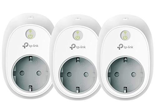 TP-Link Kasa Smart WLAN Steckdose, funktionieren mit Amazon Alexa (Echo und Echo Dot, Google Home und IFTTT, Kein Hub erforderlich, Steuern Sie Ihre Geräte von überall aus) 3er pack