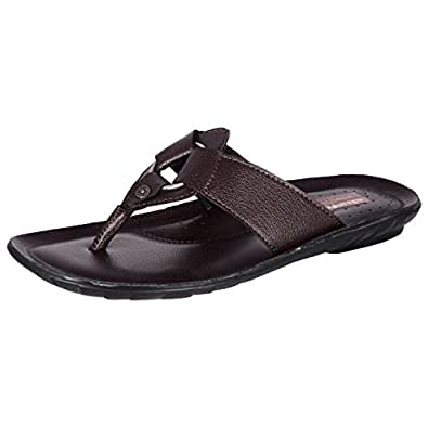 Chavda Men's Regular Casual Wear Chappals (Size - 10, Brown)