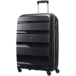 American Tourister - Bon Air - Spinner 75 cm, 91 L, Noir (Black)