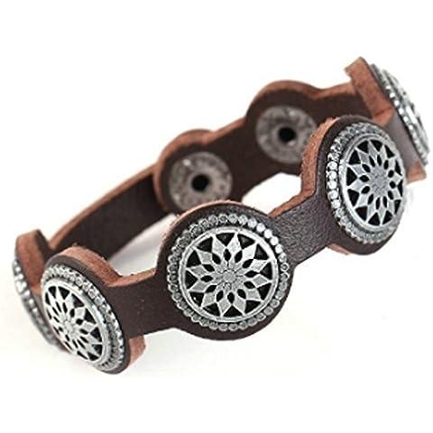 SaySure - Men Bracelet Brown Color Fashion Jewelry Men Bracelets