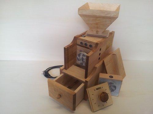 Getreidemühle WIDU Universalmühle Mod. III aus Holz - 6