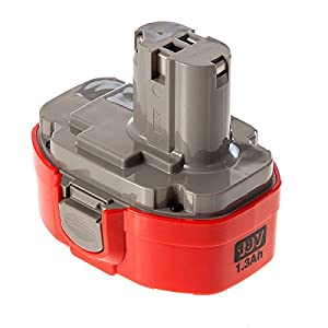 Makita 194105-7 PA18 18 V 1.3 Ah Ni-Cd P-Type Battery