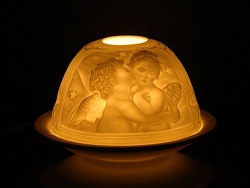 Teelichthalter Atmospherisches Licht Porzellan