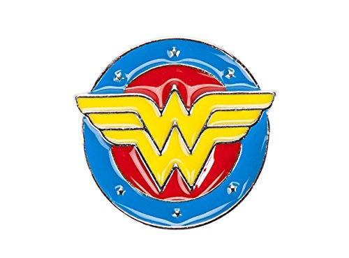 DC Comics Wonder Woman Logo Molded Enamel Lapel Pin