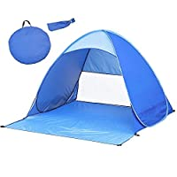 Stellen Sie sich vor, Sie transportieren ein tragbares Spielhaus für Ihre Kinder oder Ihre Familie an den Strand oder auf Reisen. Wie aufregend! Dieses einfache und einfache Pop-Up-Zelt für die Installation ist nicht nur ein Sonnenschutz, sondern auc...