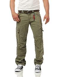 Timezone Herren Fit Jeans Loose Benito Cargo
