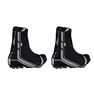 Cubre Zapatillas Ciclismo Termico especiales para Zapatillas con Calas de Carretera SPD Traspirable e Impermeables Talla 46 y 47 3069d