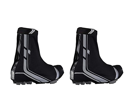 3062C Cycling Overshoes for Pedals with Cleats - Thermal, Waterproof, Breathable, Waterproof for Mountain Bikes UK Sizes 10 and 11