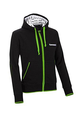 Kawasaki -  Giacca - Uomo Nero  schwarz grün weiß