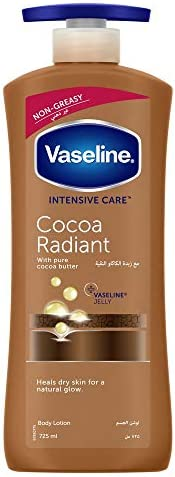 Vaseline Body Lotion Cocoa Radiant, 725 ml