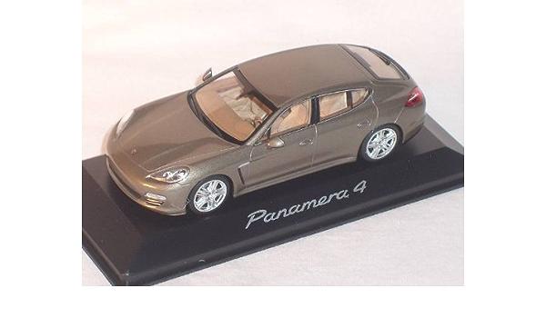 Porsche Panamera 4s 4 S Beige Grau 1 43 Minichamps Modell Auto Modell Auto Spielzeug