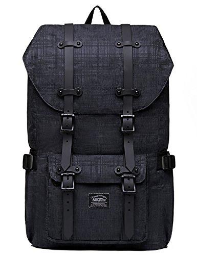 Rucksack Damen Herren Studenten Backpack KAUKKO 17 Zoll Laptop Rucksack für 15