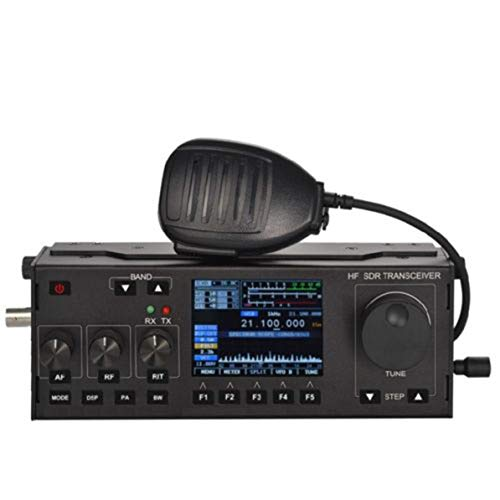 WEIWEITOE Wasserdichtes Marine-Walkie-Talkie-Dualband-Funkgerät HF-Marine-Transceiver Eingebauter GPS-Empfänger 50 Kanäle, schwarz, Gps-transceiver