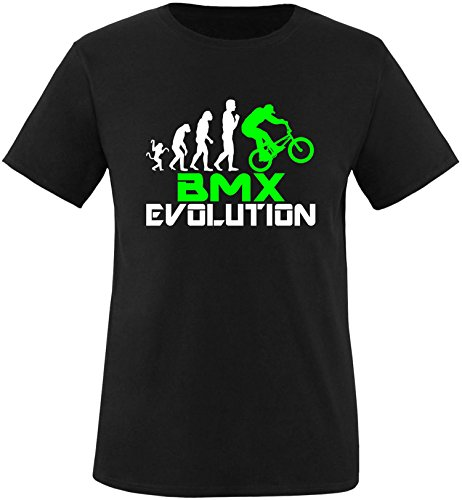 EZYshirt® BMX Evolution Kinder T-Shirt