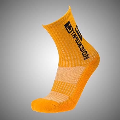 Tapedesign Herren Allround Classic Socken, orange, 39-47 -