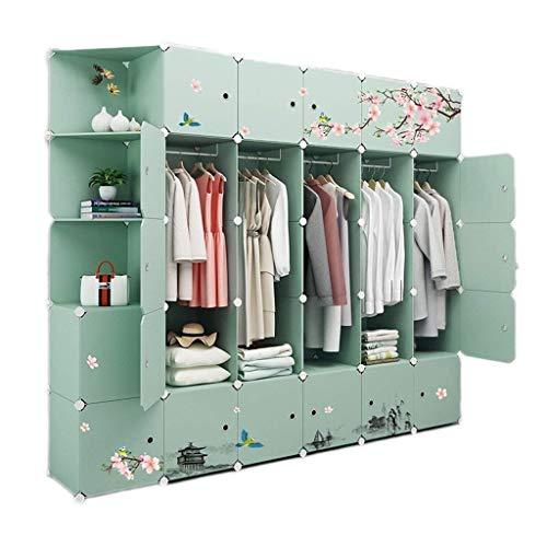 Roll-d Garderobe Kleidung Tragbarer Kleiderschrank Modularer Speicherorganisator Platzsparender...
