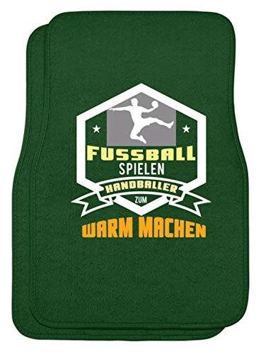 Schuhboutique Doris Finke UG (haftungsbeschränkt) Fußball spielen Handballer zum warm mach - Automatten -44x63cm-Dunkelgrün