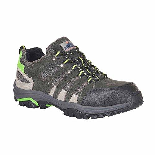 Steelite SUW–Loire Low Cut Workwear Sicherheit Trainer Schuh S1P HRO, EU 46 - UK 11, grau, 1 grau