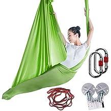 Amazon.es  correas de yoga - Verde b62dd91e3264