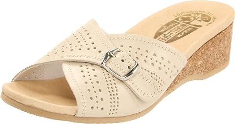 Damen worishofer, 251Euro Comfort Slide Sandalen, Grün - Opal - Größe: (Verde Womens Sandali)