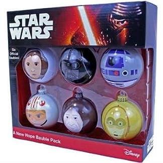 Star Wars 599386031 – Bolas de Navidad a New Hope (6 uds)