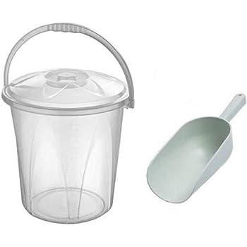 Smc Gardenware 40l Medium Metal Bin Dustbin Ideal For Bird Seed