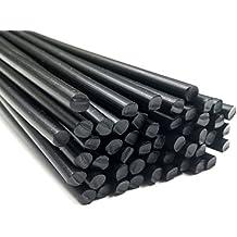 Alambre de soldadura de plástico PP 3mm Redondo Negro 25 barra