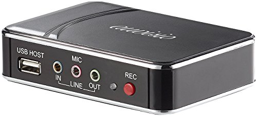 auvisio HDMI-Video-Rekorder Game Capture V2, Full HD, H.264-Videokompression - Mit Videorecorder Dvd-recorder Tuner