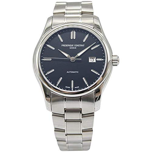 Frederique Constant Men's Classics 40mm Automatic Blue Dial Watch FC-303NB6B6B