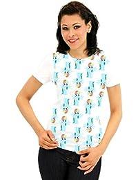 My Little Pony Rainbow Dash All Over Junior weiß T-Shirt