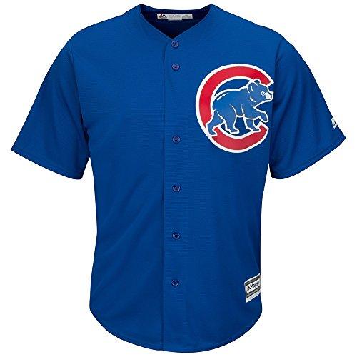 Majestic Chicago Cubs Cool Base MLB Trikot Alternate Blau L -