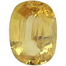 100% Natural Yellow Sapphire (Pukhraj/Guru) Certified Astrological Gemstone (4.84 CTS)