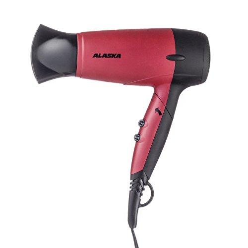 ALASKA Haartrockner HD 1613 N Rot   Haare   1.600 W   3 Temperaturstufen   2 Gebläsestufen   Überhitzungsschutz
